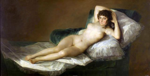 Franscisco de Goya – Nude Maya [Maya Desnuda, 1800]