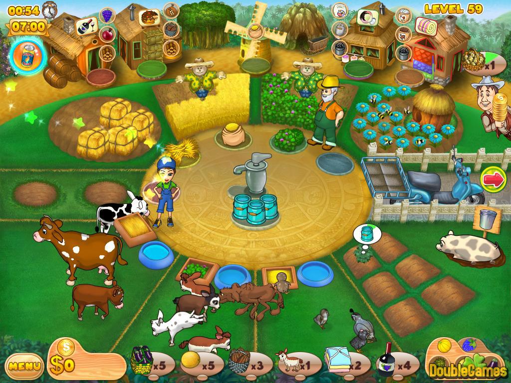 تحميل لعبة المزرعة السعيدة 2015
