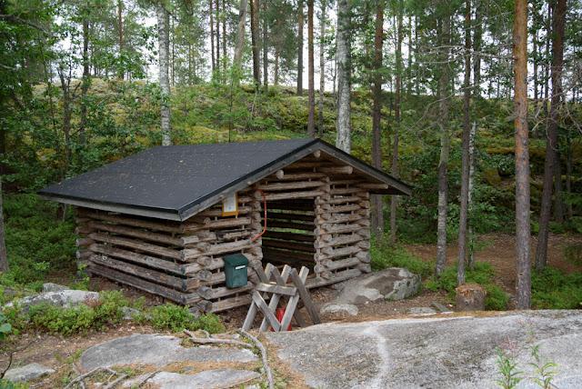 Отчет о походе по национальному парку Коловеси (Финляндия)