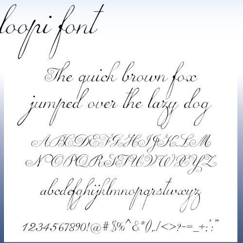 PRISTYNE Bold Script Font Free Download - Free Script Fonts