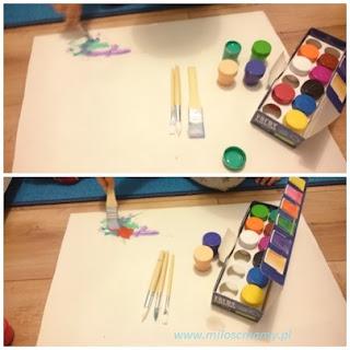 farby i pędzelek