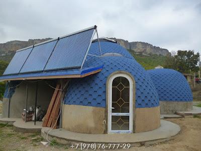 Цена На Строительство Купольного Дома В Крыму