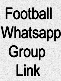 Football Whatsapp Group Link