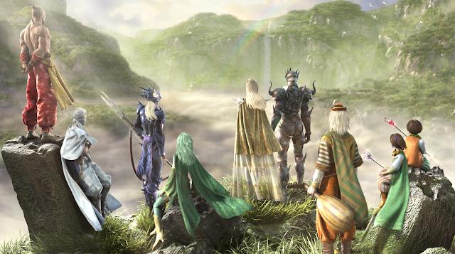 Final Fantasy IV ja Tsuki no Akari -kappaleen sanoma