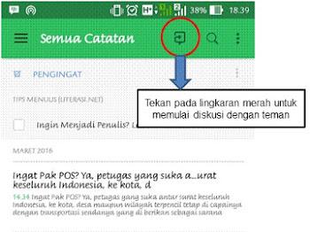 Aplikasi Untuk Smartphone Buat yang Suka Nulis