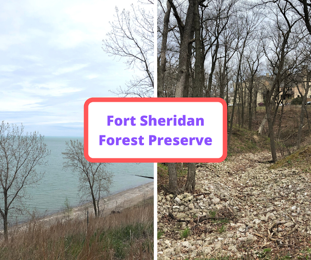 Spectacular Views, History and Birding at Fort Sheridan Forest Preserve
