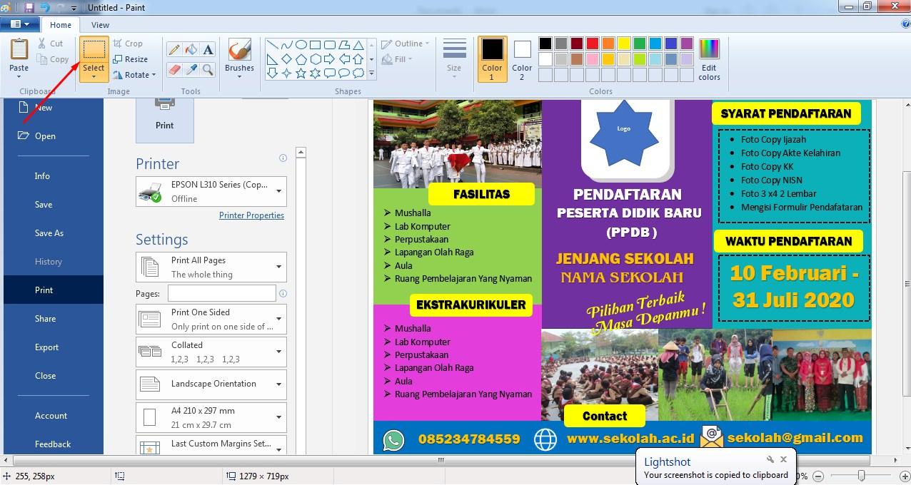 Download Brosur Penerimaan Siswa Baru PPDB File Word Bisa ...