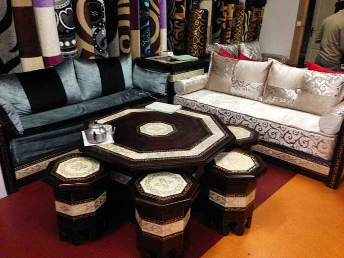 Boutique Salon marocain 2018/2019: salon moderne