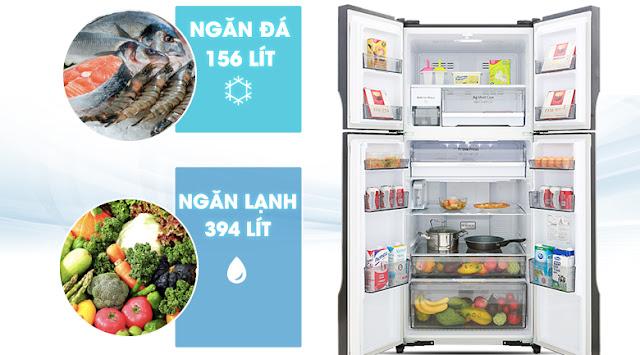 Tủ lạnh Panasonic Inverter 550 lít NR-DZ600GXVN