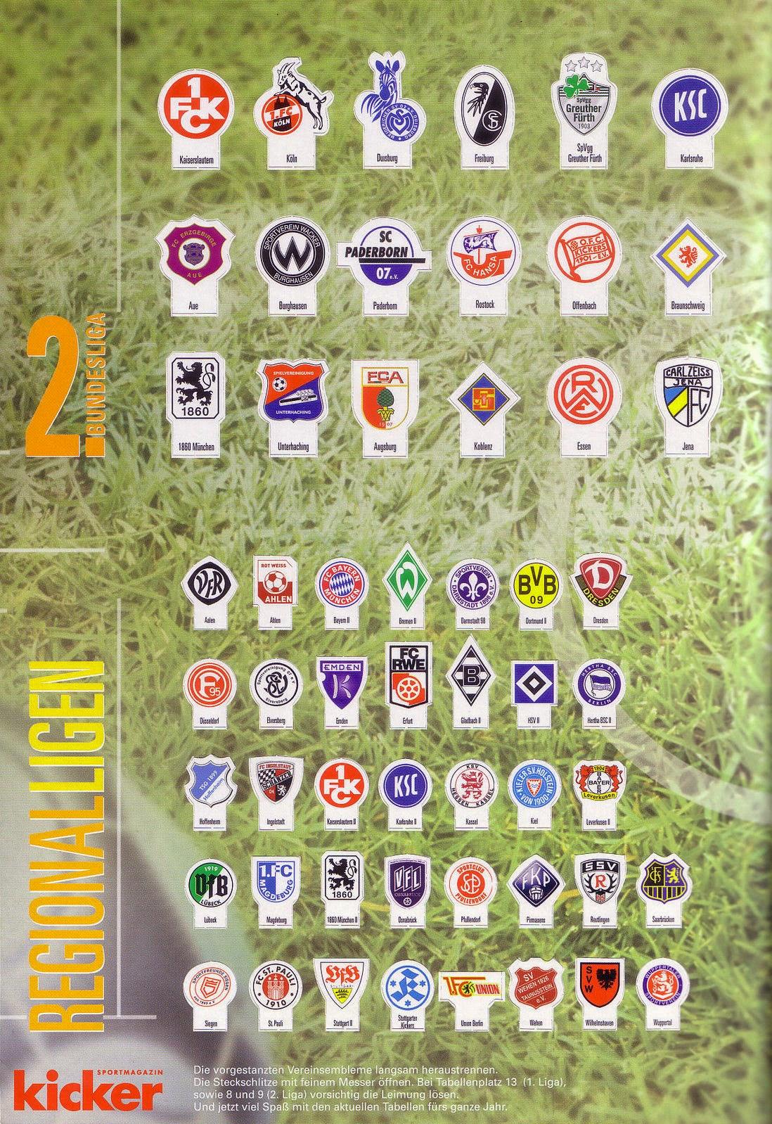 Tischkicker Bundesliga