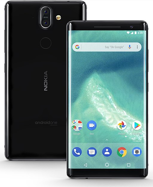 Nokia 8  sirocco -  Nokia smartphone android mobiles Price│review in India
