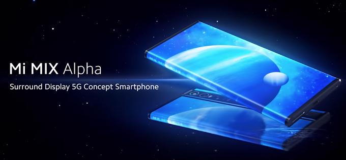 Xiaomi Mi Mix Alpha: με οθόνη που αγκαλιάζει την πίσω πλευρά