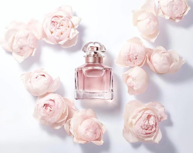 Oficjalne materiały z kampanii perfum Guerlain Mon Guerlain Florale