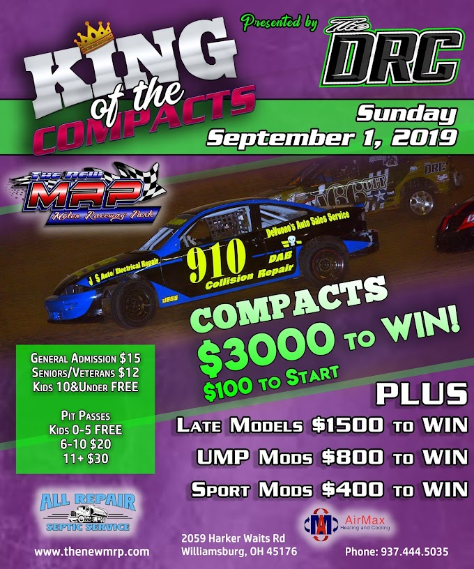 10th Annual King of Compacts Presented By EBJ Performance Drivers Roster