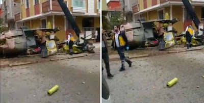 ΕΚΤΑΚΤΟ: Συντριβή στρατιωτικού ελικοπτέρου στην Κωνσταντινούπολη – Έπεσε σε κατοικημένη περιοχή – Τρεις Τούρκοι νεκροί