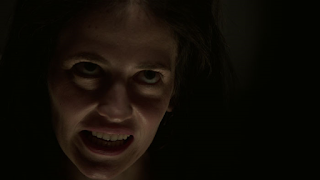 Eva Green Horror Facial Expression