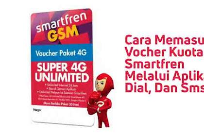Cara Menggunakan Voucher Smartfren Unlimited  VIA Aplikasi, Dial Dan SMS