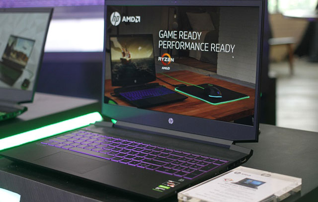 HP Pavilion Gaming 15 AMD Ryzen Mobile