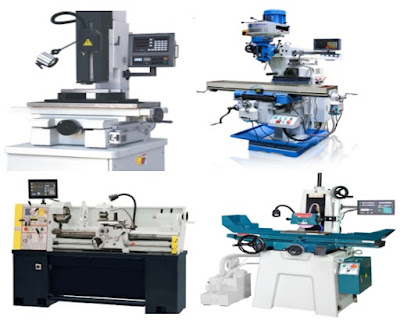 ứng dụng màn hình thước quang gắn máy tiện, máy phay, máy mài, máy xọc