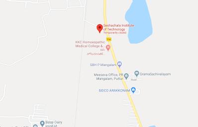 Seshachala Institute of Technology [SIT], Chittor, Andhra Pradesh