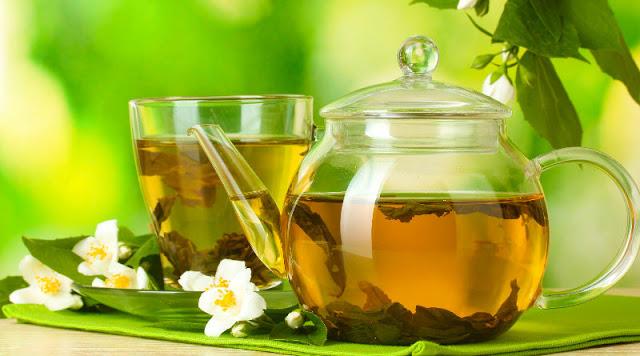 Baja de peso con la dieta del té verde