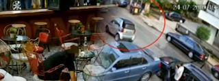 Βίντεο ντοκουμέντο λίγα δευτερόλεπτα μετά τη μαφιόζικη εκτέλεση στο Περιστέρι