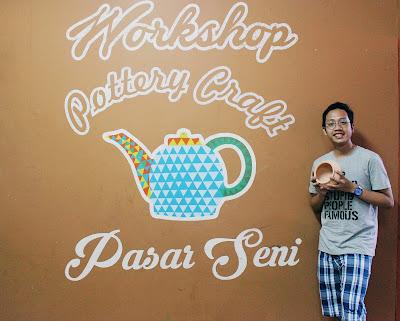 Blogger Eksis ikut workshop di Pasar Seni Ancol