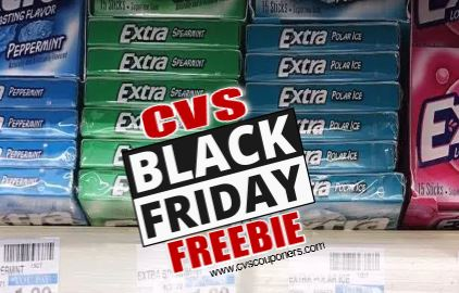 FREE Gum Singles CVS Black Friday Deal