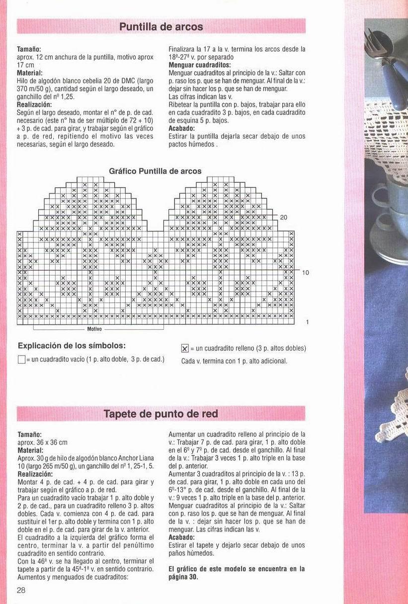 Revista Laura Ganchillo con Patrones de Tapetes Para Descargar ...