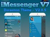 Download BBM MOD iMESSENGER V7 DORAEMON THEME Base v3.0.1.25 Apk Terbaru