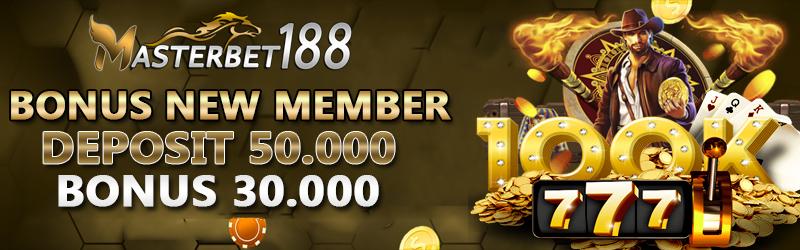 Bonus new member 30 ribu