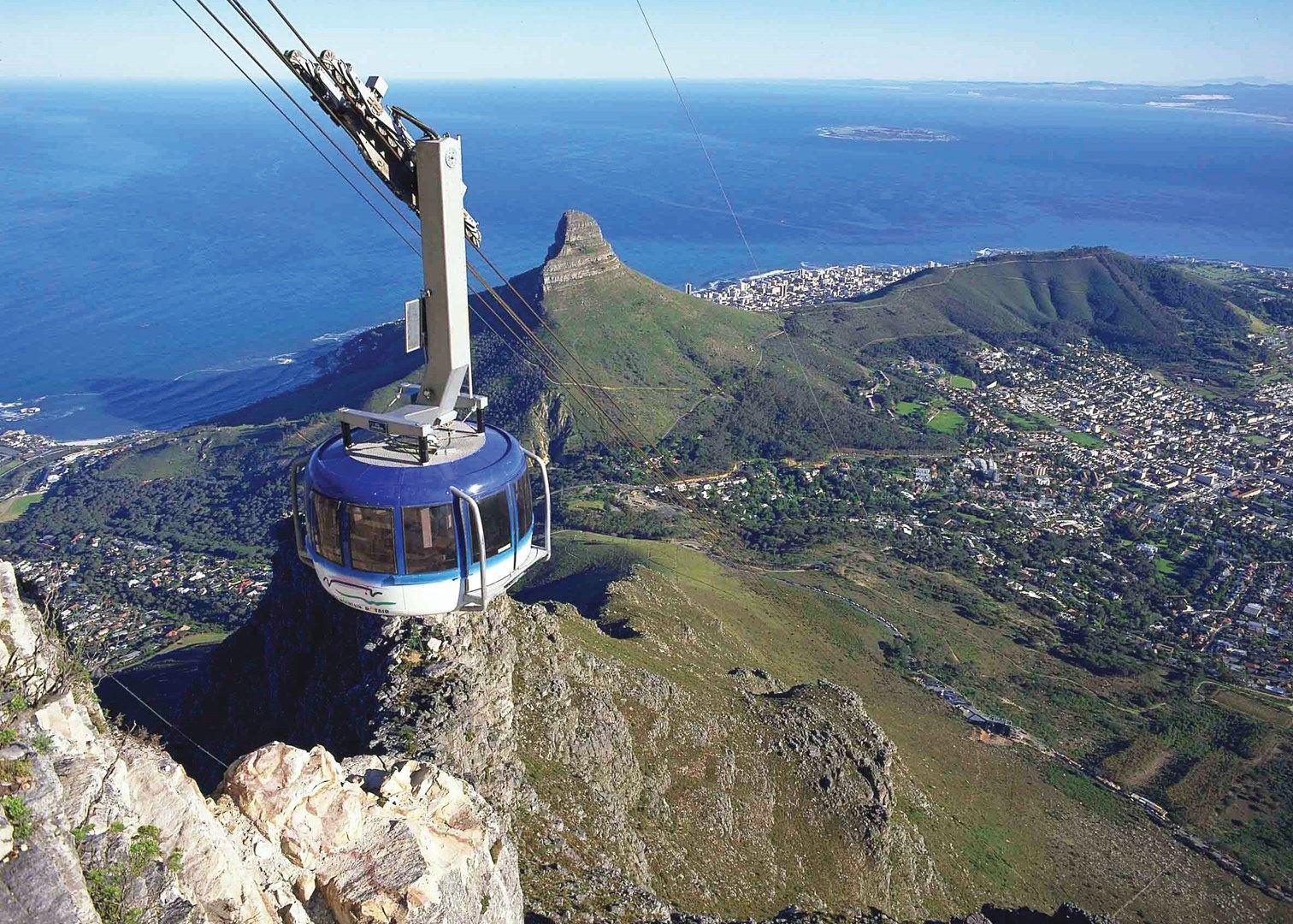 Столовая гора в Кейптауне, Южная Африка