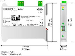 Converter ADFweb HD67673–MSTP-A1