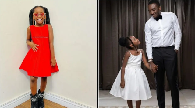 """""""Everyone needs a break from their family"""" - Nigerian Comedia, Bovi's 8-year-old daughter tells her dad"""