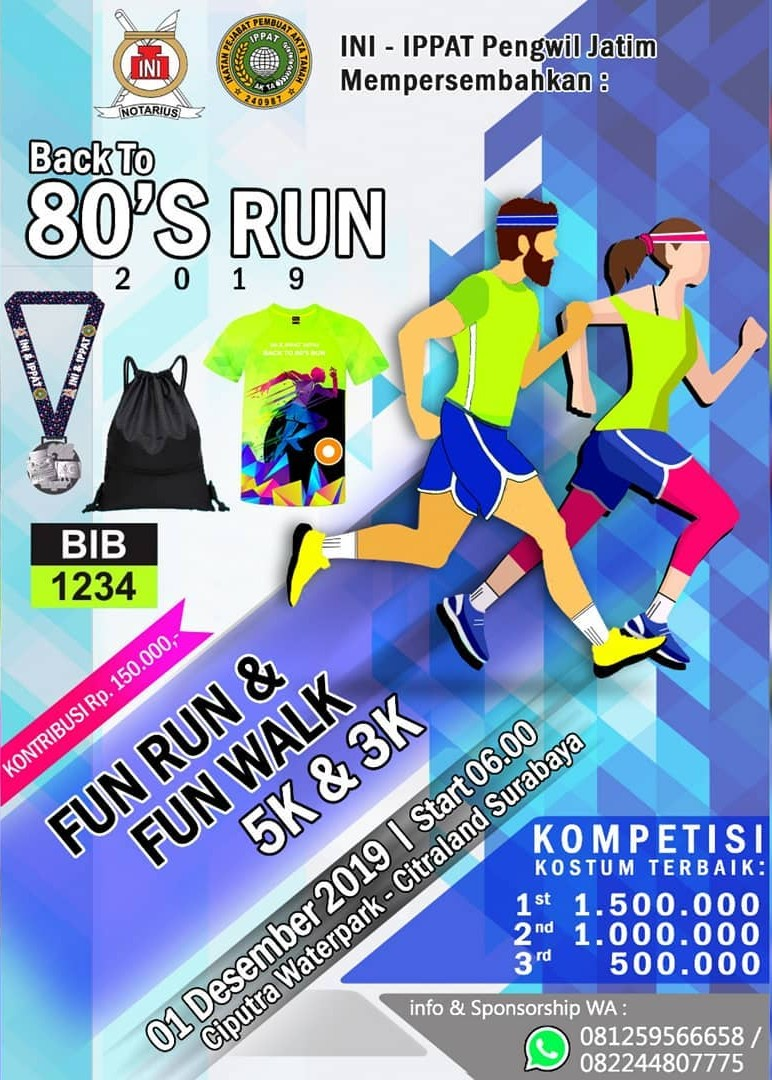 Back To 80's Run • 2019