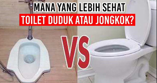Mana Yang Lebih Sehat, Toilet Duduk atau Jongkok?