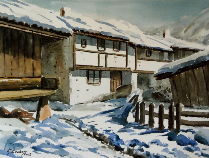 Акварельная живопись. Guillermo Carbajo
