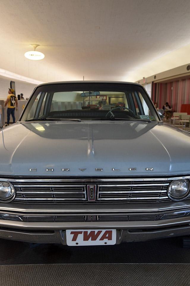 TWA Hotel JFK Vintage Car