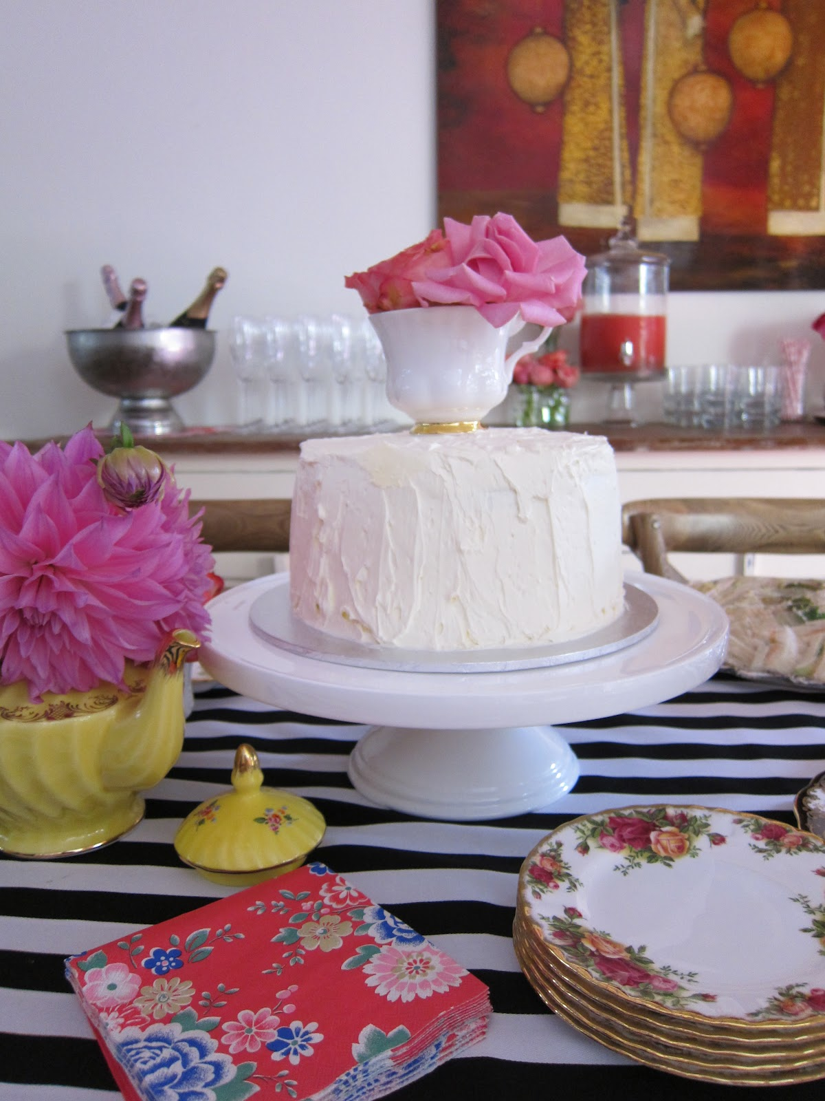 kitchen tea cake ideas once daily chic my kitchen tea 20082