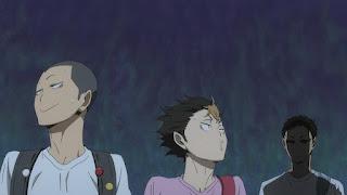 ハイキュー!! アニメ 2期13話 | HAIKYU!! Karasuno 田中龍之介 西谷夕