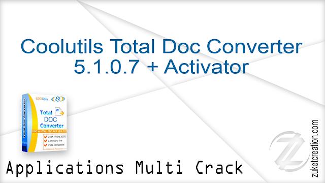 Coolutils Total Doc Converter 5.1.0.7 + Activator