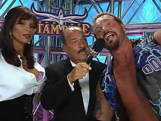 WCW Spring Stampede 2000 - DDP and Kimberly talk to Mean Gene