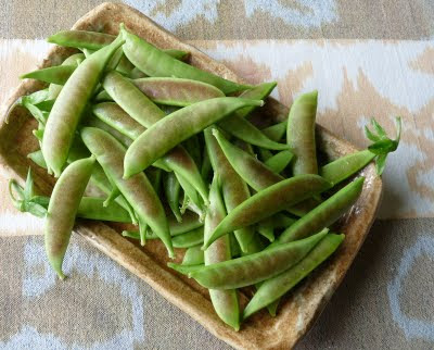 Spring Blush Snap Peas