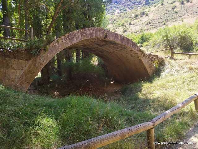 puente romano en Sepúlveda Segovia