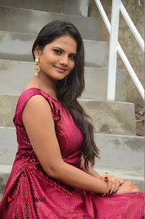 Actress Priyanka Shrma Pictures in Long Dress at Lovers Park Movie Opening  0098.JPG