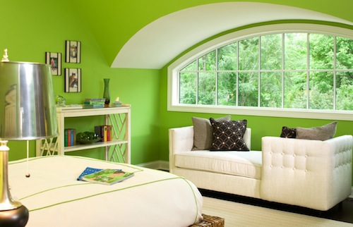 Foundation dezin decor june 2016 - Green white interior design ...
