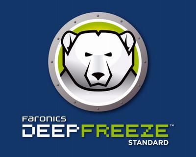 برنامج حفظ وتجميد جهاز الكمبيوتر Deep Freeze