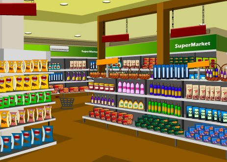 Play KnfGame Grocery Supermarket Escape