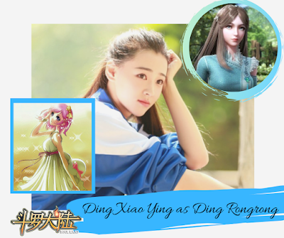Douluo Continent: Ding Xiao Ying as Ning Rongrong