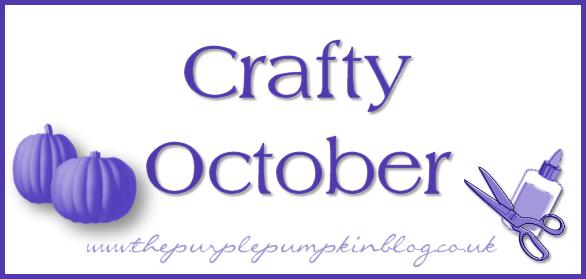 Crafty October at The Purple Pumpkin Blog